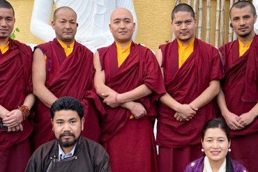 Mönche aus Ladakh